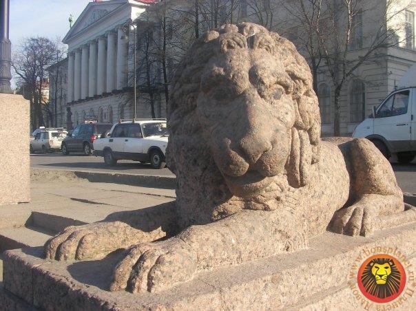 Львы в Питерской архитектуре